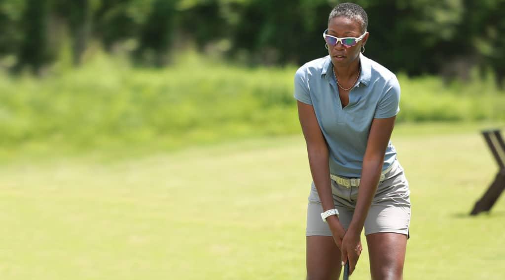 dr greta playing golf