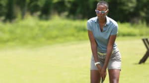 dr greta playing golf