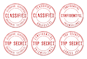 Classified Top Secret logo