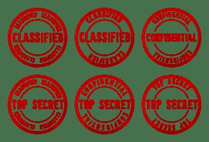 Classified Top Secret logo